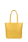 SportsChic Women's Vegan Midi Tote - Saffron Yellow