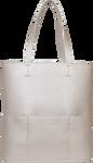 SportsChic Women's Vegan Tote Bag - Titanium White