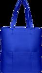 SportsChic Women's Vegan Tote Bag - Classic Blue