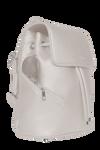 SportsChic Women's Vegan Mini Backpack - Titanium white