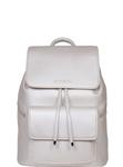 SportsChic Women's Vegan Midi Backpack - Titanium White