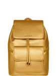 SportsChic Women's Vegan Midi Backpack - Metallic Bronze