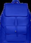SportsChic Women's Vegan Maxi Backpack Classic Blue