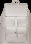 SportsChic Women's Vegan Maxi Backpack Titanium White