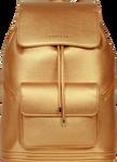 SportsChic Women's Vegan Maxi Backpack Metallic Bronze
