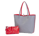 Sydney Love Pin High Golf Reversible Tote with Inner Pouch
