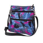 Two front zippered pockets with golf ball zipper pulls.