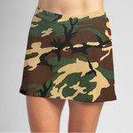 FestaSports Camouflage sporty skirt is fabulous for all activewear like golf, tennis, pickleball and running around town getting things done. The specialized FestaFit makes this skort a must have for function and comfort. Inner shorts have lower leg band to store balls during fierce tennis matches.