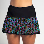 FestaSports Celebration Sequins Flounce Skort  is fabulous for all activewear and running around town getting things done. The specialized FestaFit makes this skort a must have for function and comfort. Inner shorts have lower leg band to store balls during fierce tennis matches.