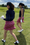 """Golftini Little Red Corvette Pull-On Stretch Skort with A Ruffle 18"""""""