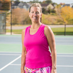 FestaSports' Scoop neck tank top is made in fantabulous activewear fabric. Colors are made to match our skorts so you can buy matching tee.