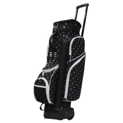 RJ Sports Spinner Polka Dot Ladies Golf Bag