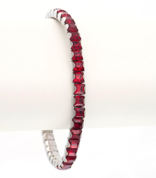 Bonjoc Siam Ladies Swarovski Crystal Stretch Golf Bracelet