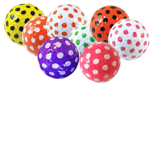 Polka Dot Golf Balls