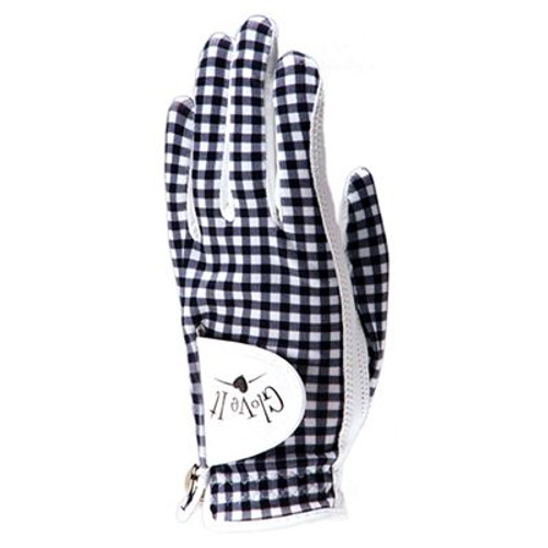 Glove It Gingham Ladies Golf Glove - Size: Large
