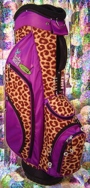 Birdie Babe Driving Me Wild Leopard Ladies Hybrid Golf Bag