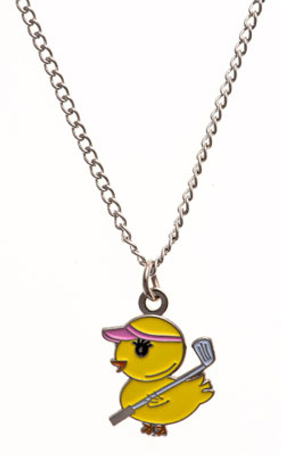 Bonjoc Golf Chickie Necklace