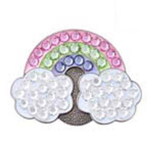 Bonjoc Rainbow Swarovski Crystal Ball Marker