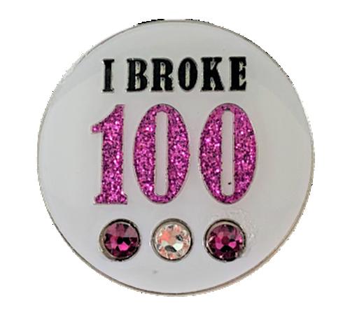 Bonjoc I Broke 100 Crystal Ball Marker