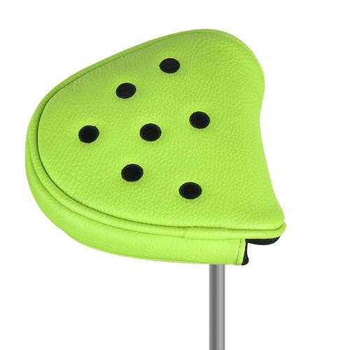 Just4Golf Green Dot Mallet Putter Cover