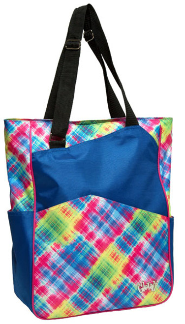 Glove It Electric Plaid Tennis Tote Bag - Only 2 left!
