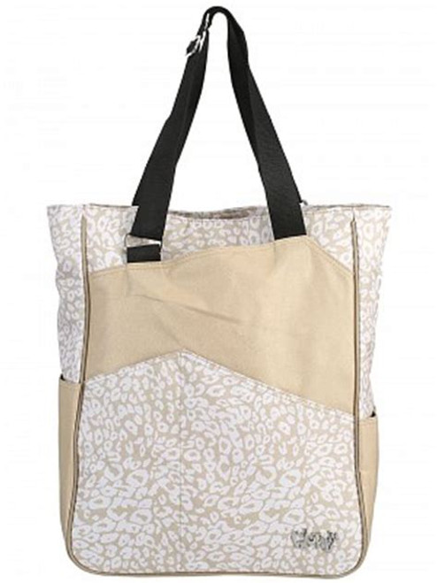 Glove It Uptown Cheetah Tennis Tote Bag - Only 2 left!