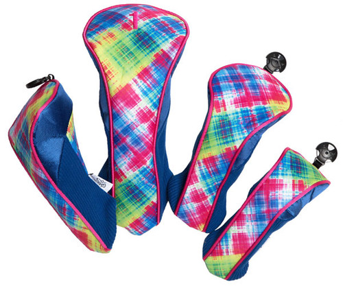Glove It Electric Plaid Golf Club Covers - only 1 left!