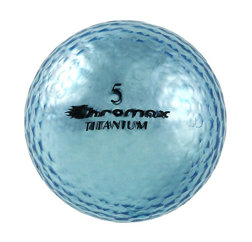 Chromax Metallic Blue Golf Balls - Pack of 6 Golf Balls