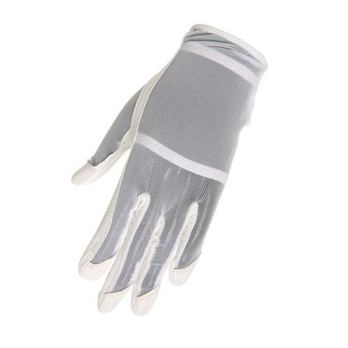 HJ Glove Solaire White Ladies Golf Glove - Size: Small