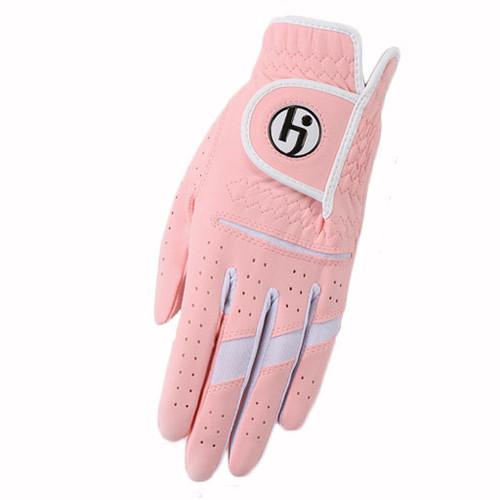 HJ Glove Gripper Cotton Candy Pink Ladies Golf Glove