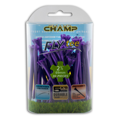 FLYTee Purple Golf Tees