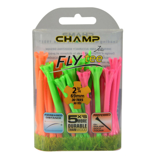 FLYTee Neon Mix Golf Tees