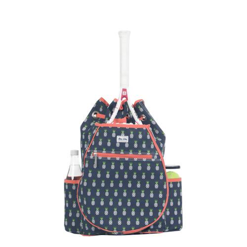 Ame & Lulu Kingsley Tennis Backpack - Pineapple