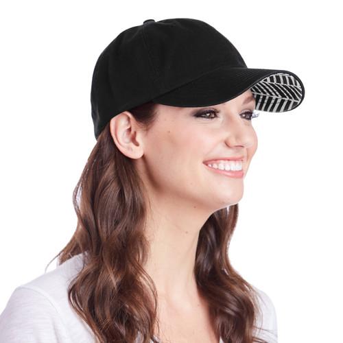 Ame & Lulu Black Shutters Hat