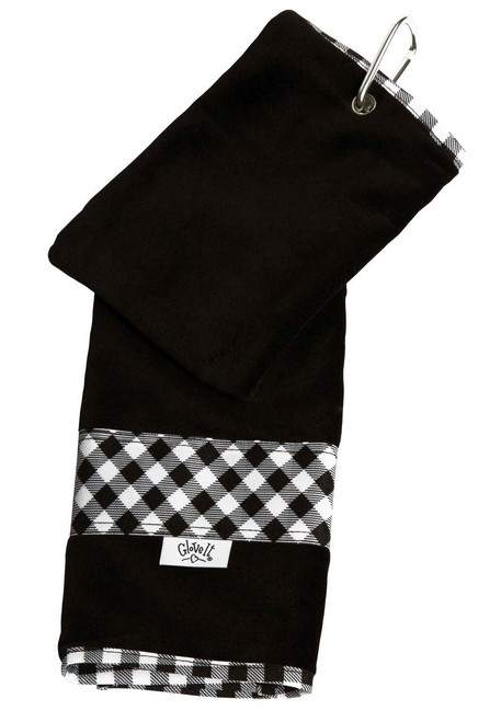 Glove It Checkmate Ladies Golf Towel - Only 2 left!