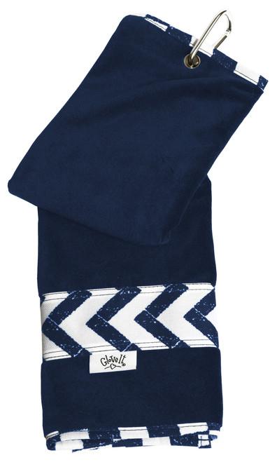 Glove It Coastal Tile Ladies Golf Towel