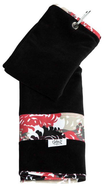 Glove It Coral Reef Ladies Golf Towel