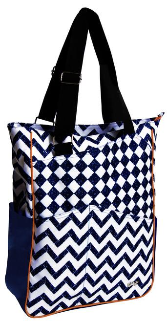 Glove It Coastal Tile Tennis Tote Bag