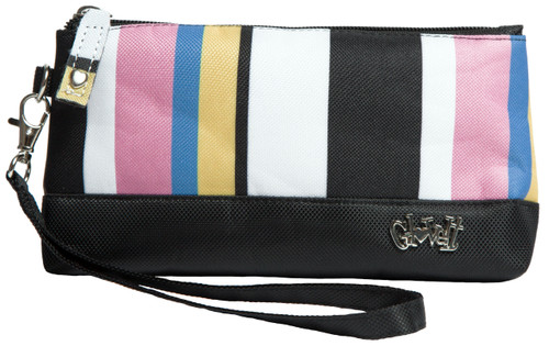 Glove It Cabana Stripe Wristlet
