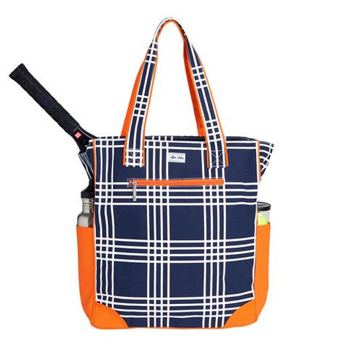 Ame & Lulu Emmerson Ladies Tennis Tote Bag - Abbey Plaid (only 1 left!)