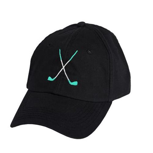 Ame & Lulu Golf Lovers Hat - Black Shutters