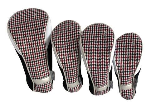 Taboo Fashions Checkmate Ladies Club Cover Set