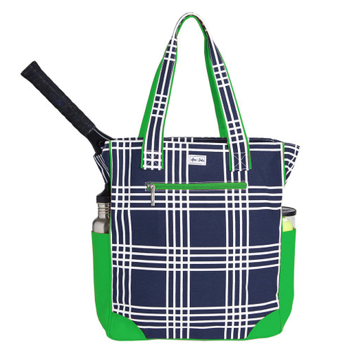 Ame & Lulu Emerson Tennis Tote Bag - Parker Plaid