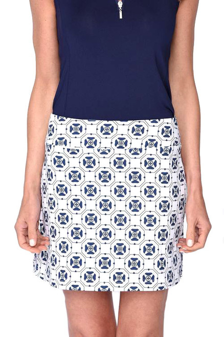 Golftini Circle of Love Pull-On Tech Golf Skort