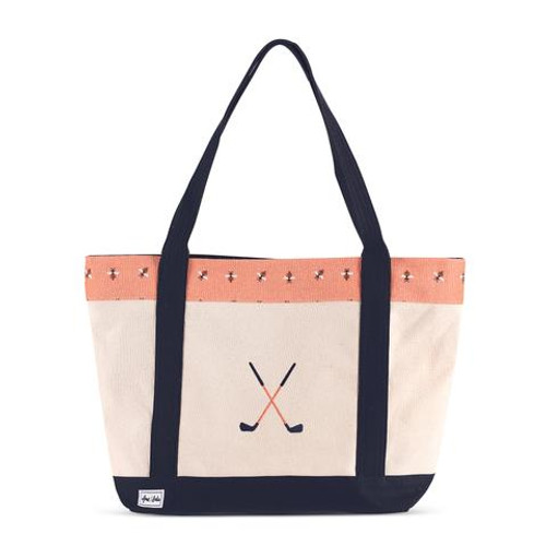 A&L Bees Knees Golf Lovers Tote