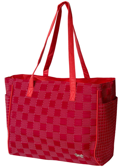 Glove It Lady in Red Tote Bag