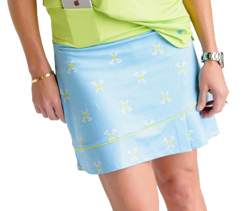 Birdies & Bows Twisted Tees Golf Skort - Size: XS