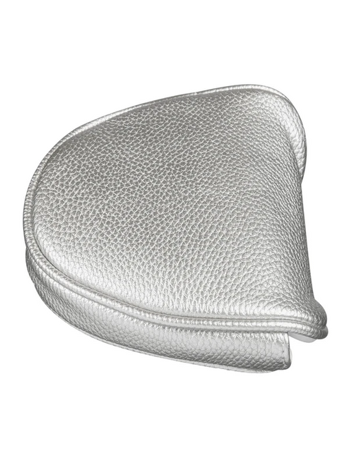 Just4Golf Metallic Silver Mallet Putter Cover