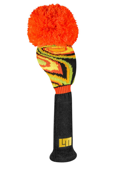 Loudmouth Black Shag Driver Cover