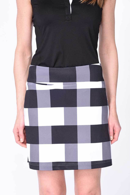 Golftini Manhattan Plaid Golf Skort
